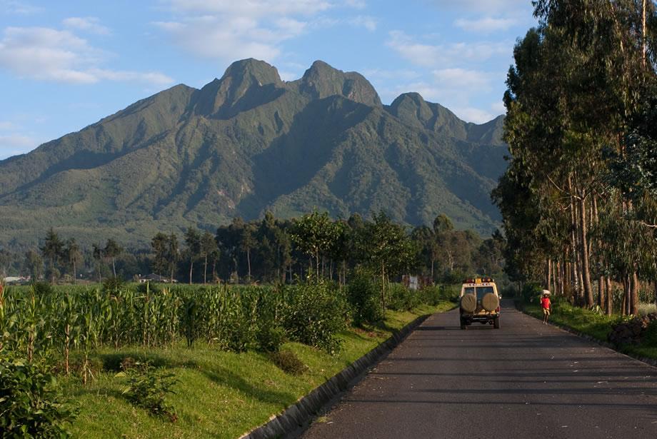 Virunga Volcanoes of Rwanda